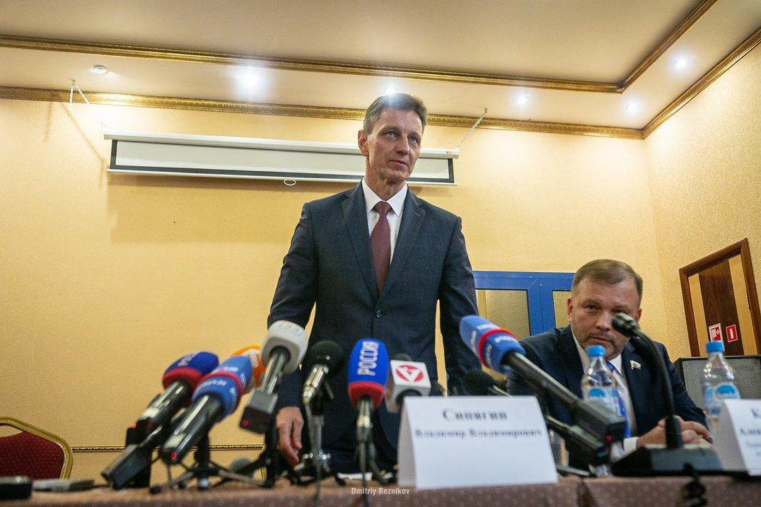 Губернатор Сипягин серьезно займется социальными проблемами региона