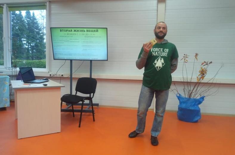 В Калининграде провели экологический праздник «Вторая жизнь вещей»