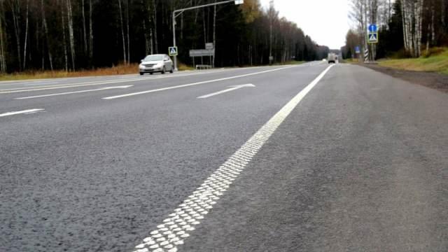 На российских дорогах появится шумовая разметка