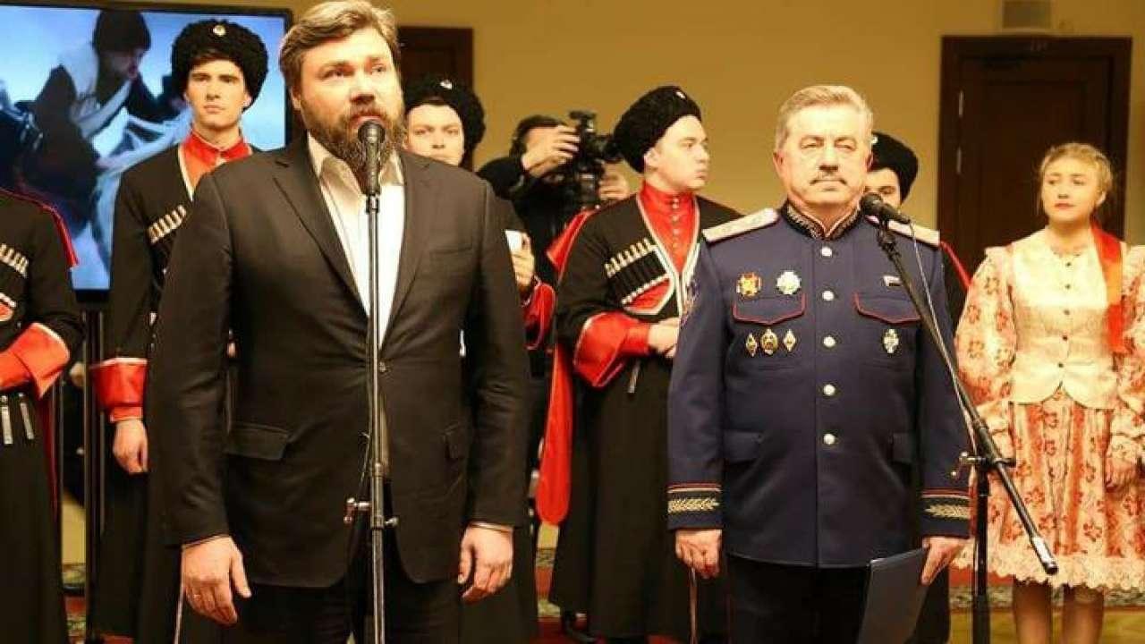 В Госдуме представили выставку к 450-летию казачьих войск