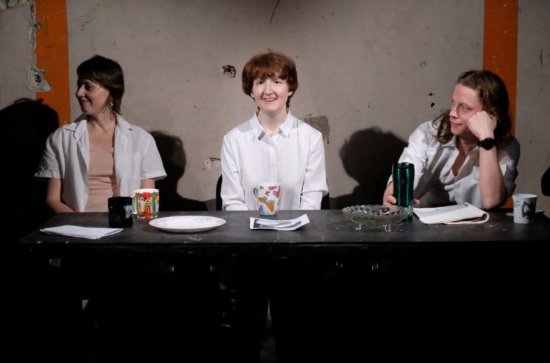 В Петербурге актриса с аутизмом стала автором пьесы