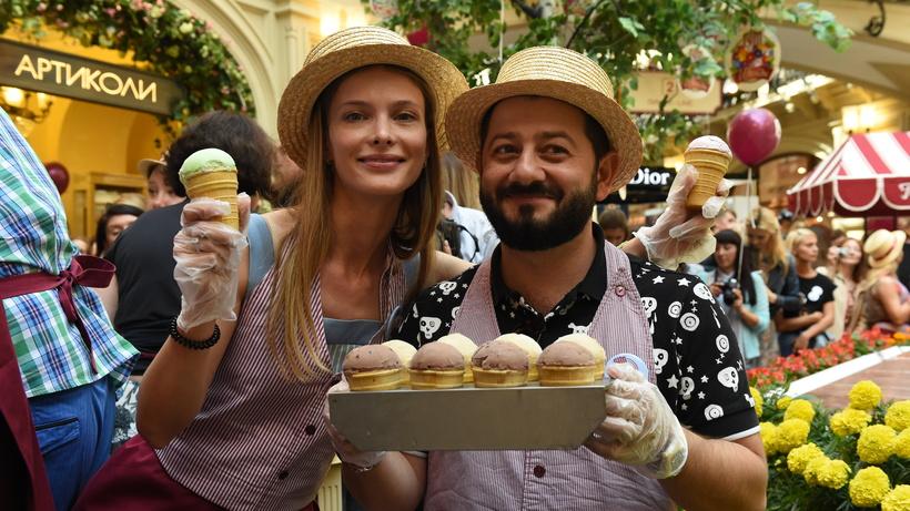В столичном ГУМе проведут благотворительный День мороженого
