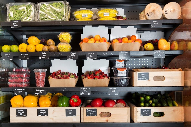 Полезные продукты в магазине можно будет выбрать через мобильное приложение