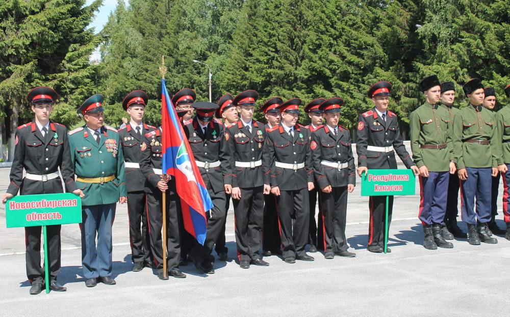 Казачий кадетский класс из Новосибирской области признали лучшим в Сибири