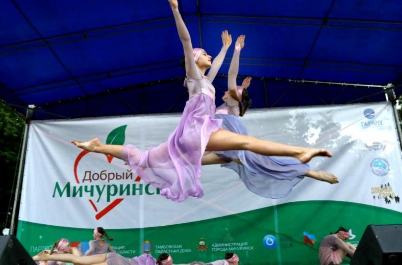 Фестиваль «Добрый Мичуринск» собрал более 40 НКО