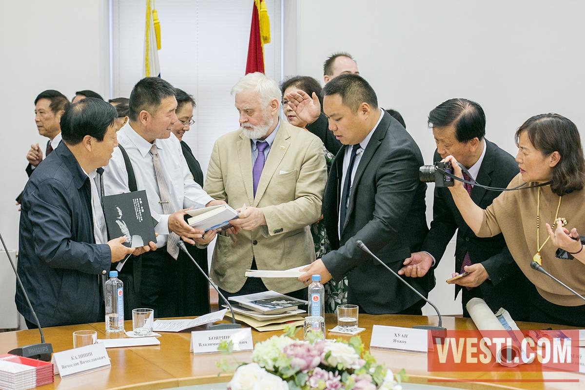 Литераторы России и Китая договорились об активном сотрудничестве