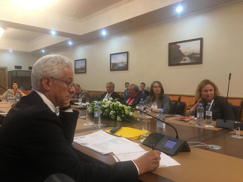 Фонд «От Винта!» принял участие в круглом столе с мировыми нефтяными лидерами