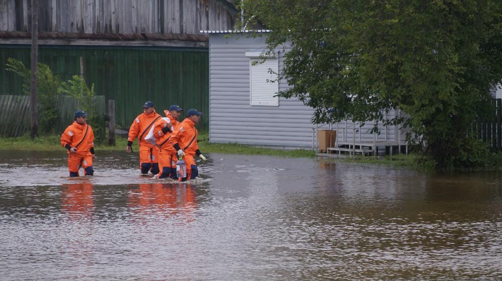 В преддверии пика паводка в Приамурье начали эвакуировать сельчан