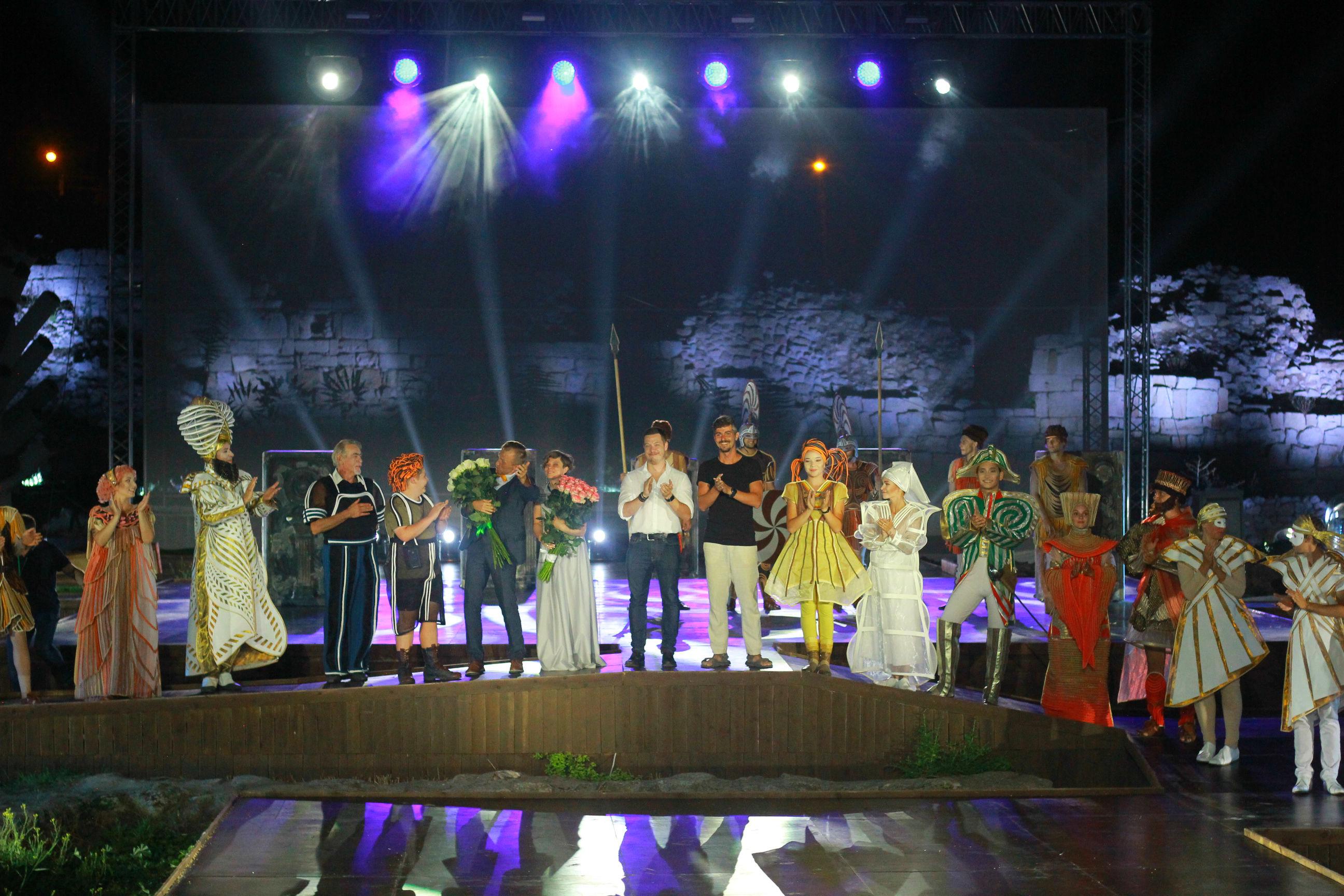 В Крыму приурочили премьеру спектакля «Грифон» ко Дню Крещения Руси