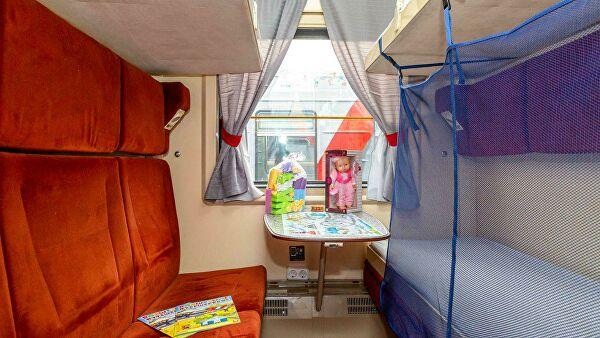 В поездах на маршруте Москва — Анапа сделали детские купе