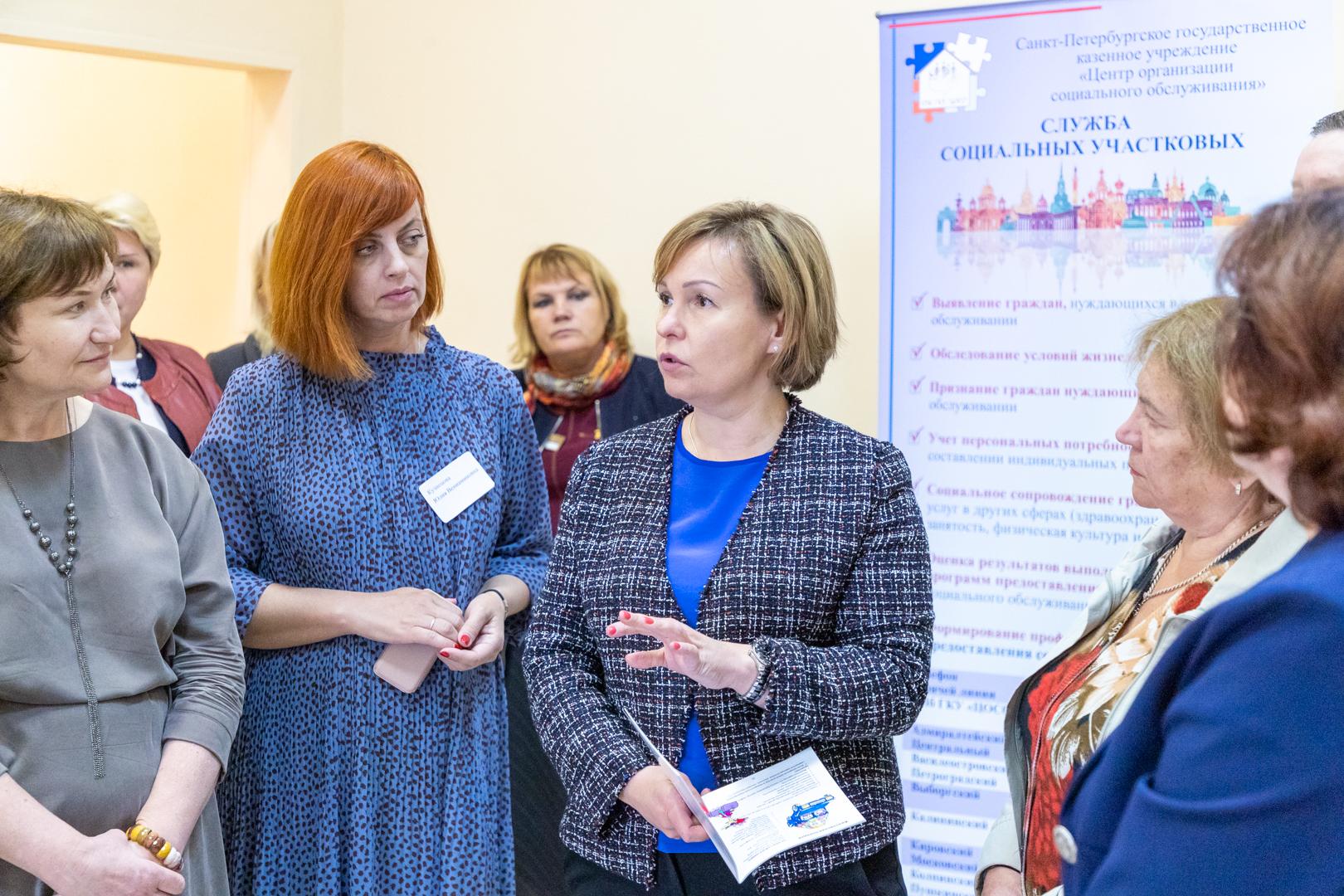 За месяц работы социальные участковые в Петербурге получили обращения почти от 23 тыс. человек