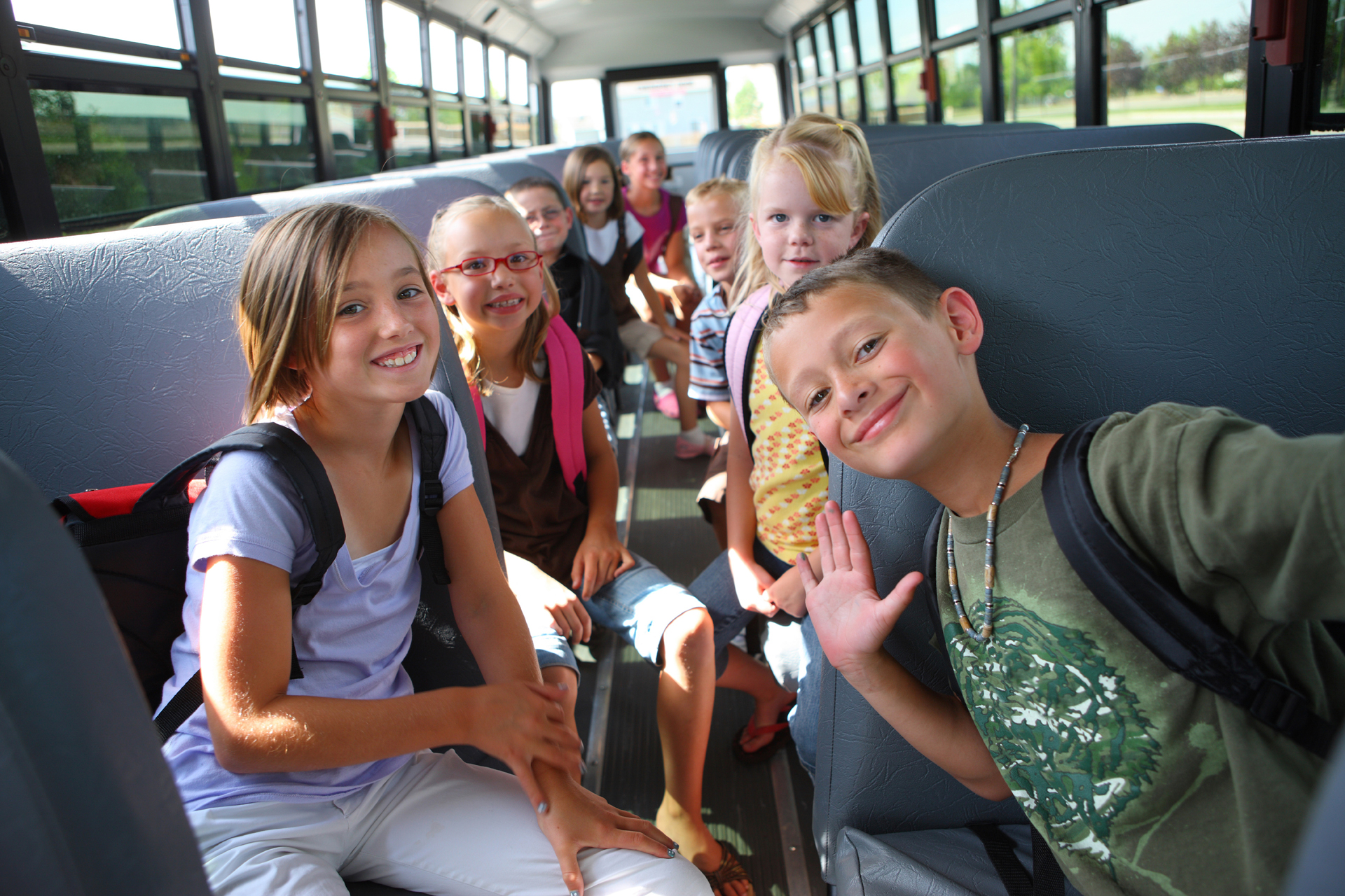 В России ввели новые требования при перевозке детей автобусами