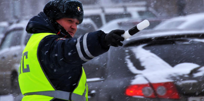В ГИБДД предложили не штрафовать водителей в непогоду