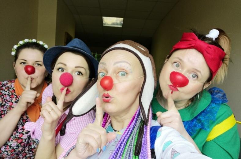 В Вологде стартовали новые тренинги для больничных клоунов