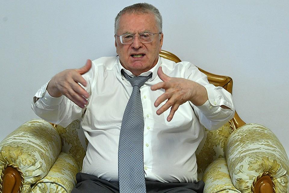 Жириновский предложил открывать чайные как туристические объекты