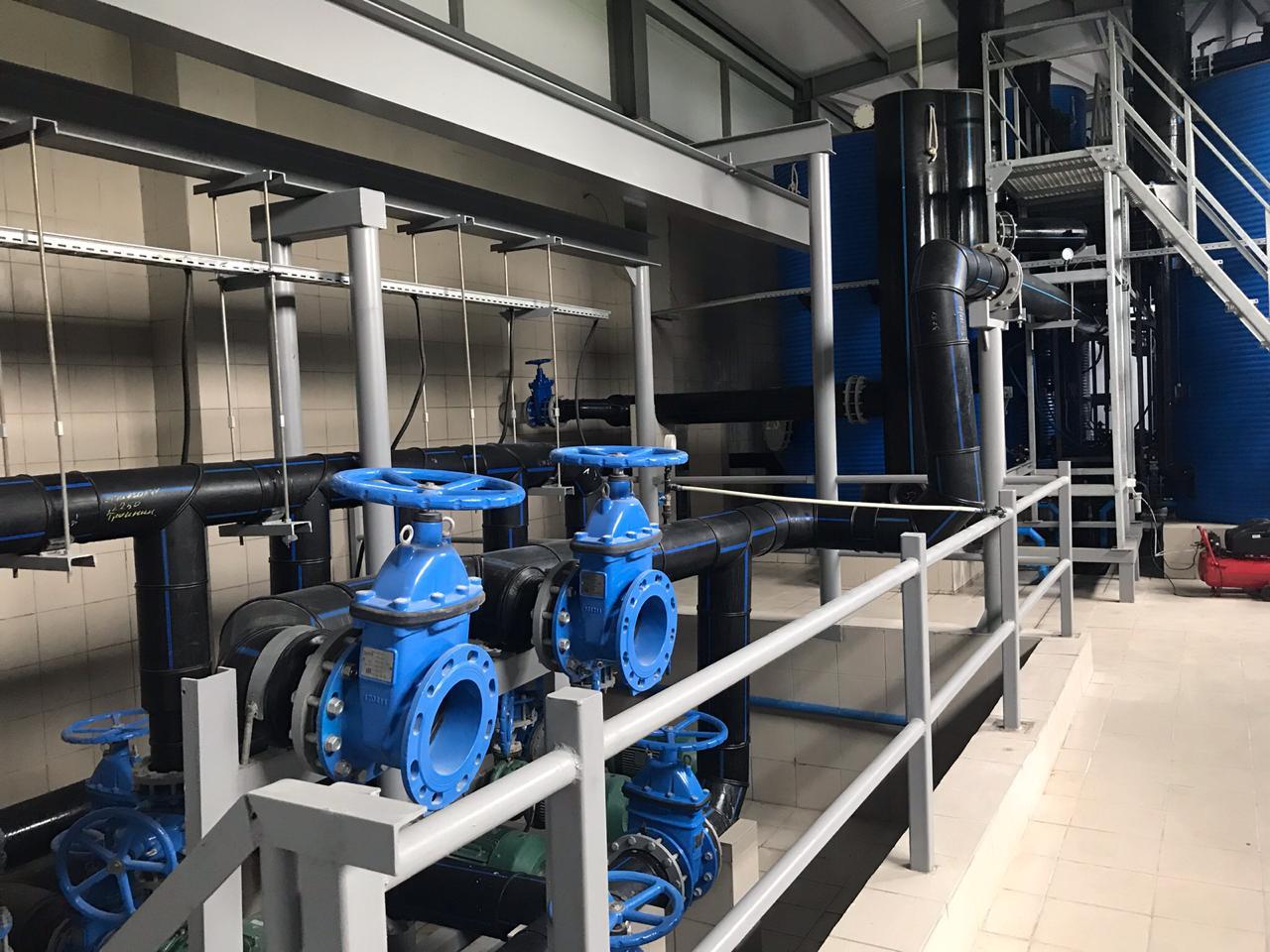 Качество водоснабжения улучшат для  70 тыс. жителей Подмосковья