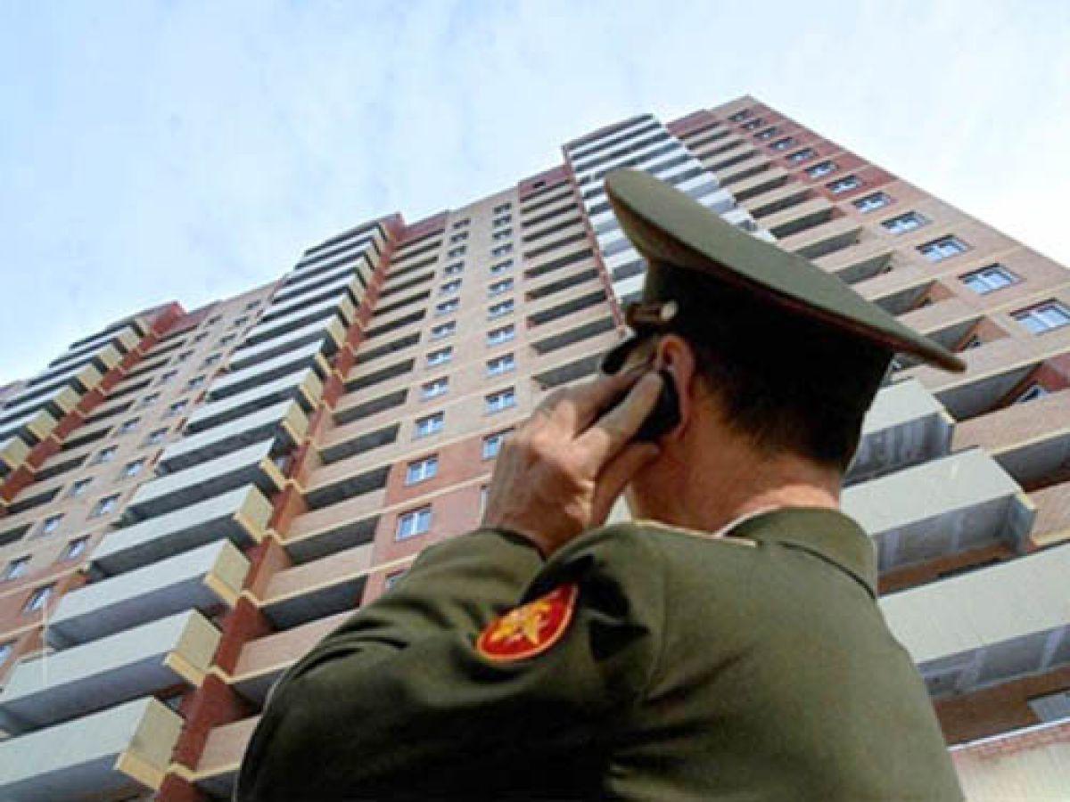 Совфед одобрил закон о признании военнослужащих нуждающимися в жилье