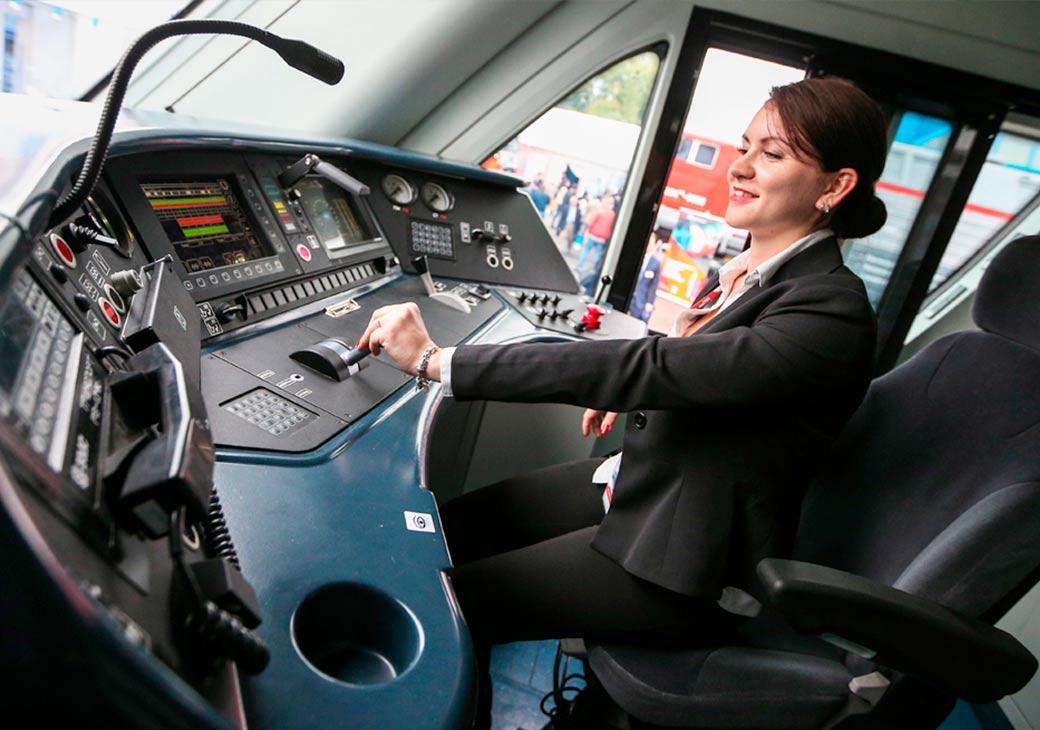 Профессия «помощник машиниста» на МЦК станет доступна для женщин