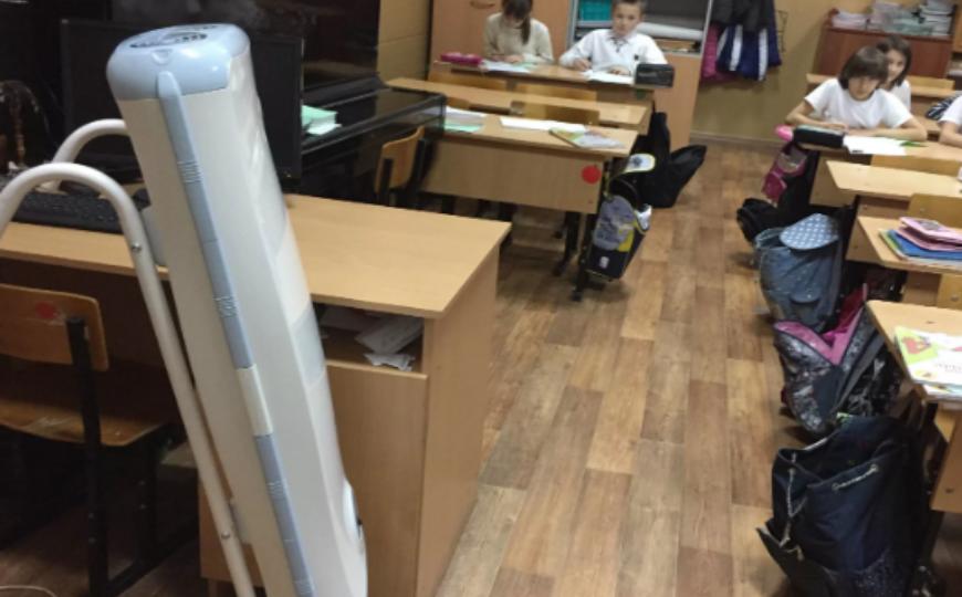 Первоклассники столичной школы получили ожоги глаз, виновную учительницу уволят