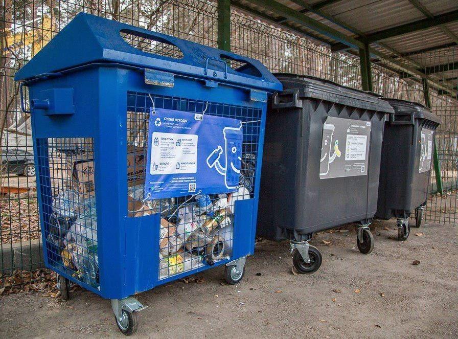 Руководитель движения «РазДельный Сбор» рассказала о пользовании синим контейнером