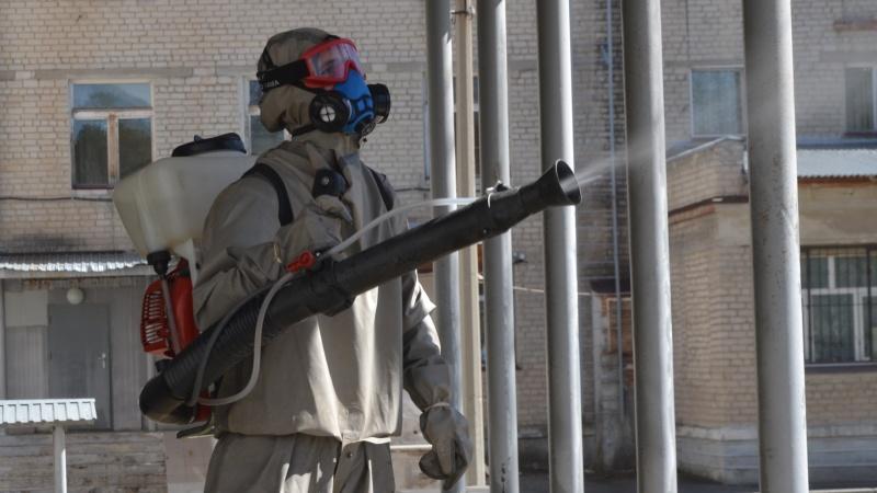 За время пандемии были продезинфицированы около 3 тысяч социальных объектов