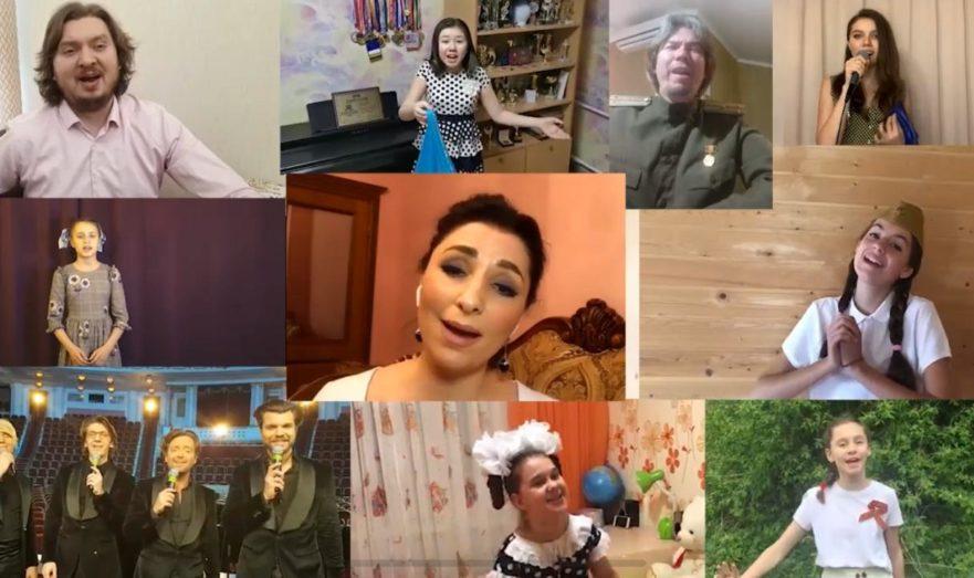 Вячеслав Зайцев, группа «Кватро» и люди со всей страны спели «Синий платочек»