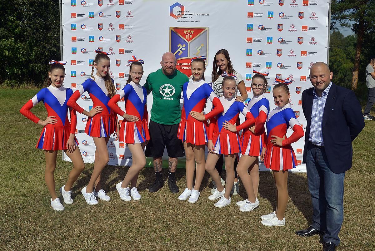 Соревнования по футболу и детский забег состоялись в Подмосковье в рамках проекта «Национальный триатлон»