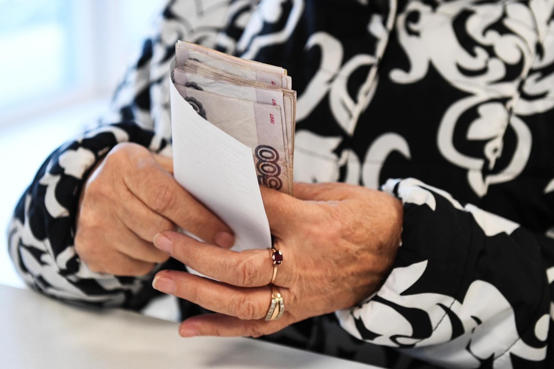 В России увеличат размеры пенсий
