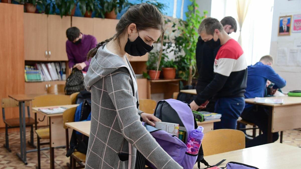 В Роспотребнадзоре рассказали о работе школ во время пандемии