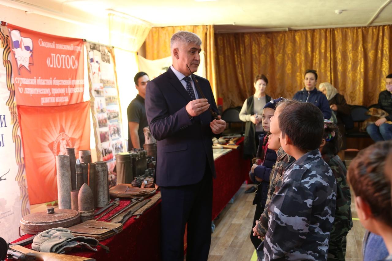 Астраханские поисковики продолжают проводить мероприятия в честь Великой Победы