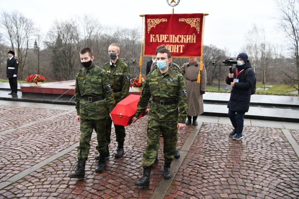 В Петрозаводске торжественно закрылась Всероссийская акция «Вахта памяти-2020»