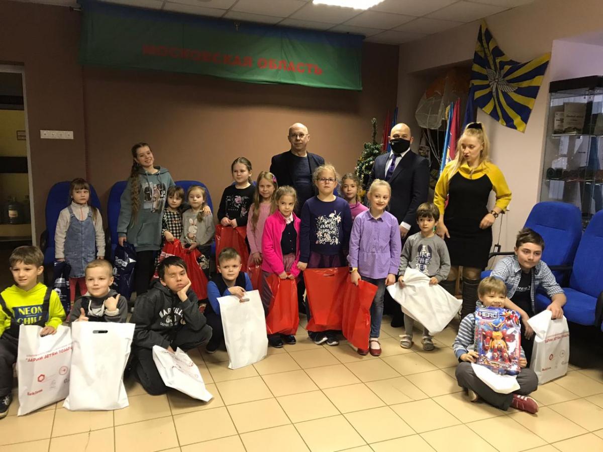 Благотворительная акция «Дарим детям подарки» прошла в подмосковном Раменском