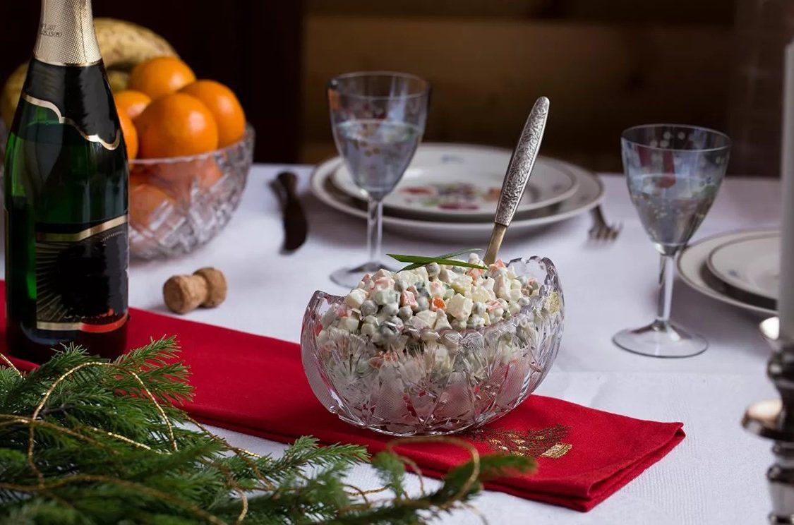 Росстат подсчитал стоимость продуктов для новогоднего стола
