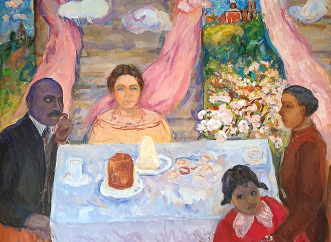 В Москве состоится выставка живописи «Лидия. Африканские сны»