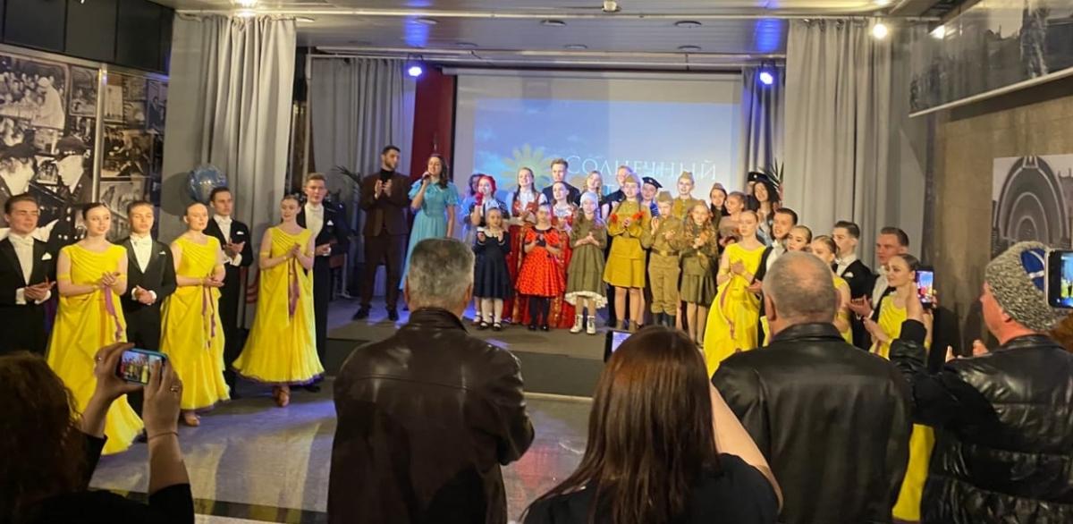 Участники проекта «Солнечный круг» организовали концерт ко Дню Победы