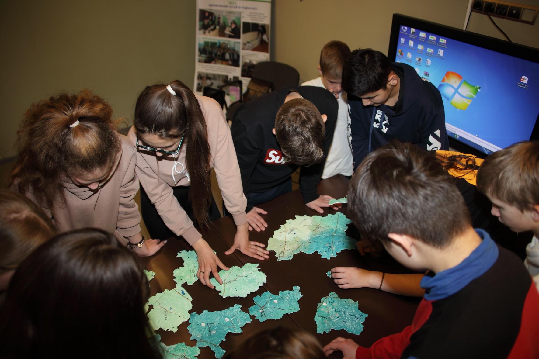 В экологическом слете школьников приняли участие более 130 учащихся Калужской области