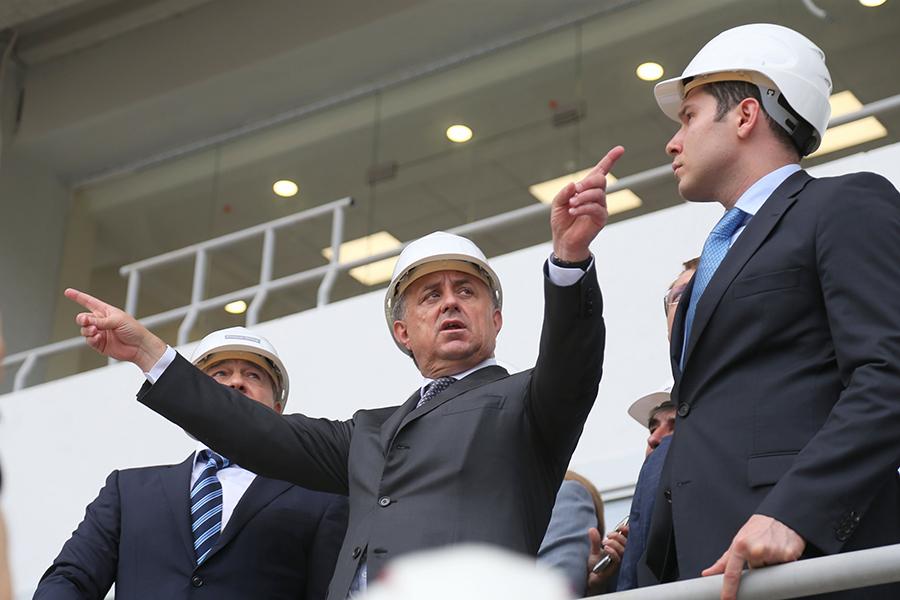 В.Мутко: строительство жилья в РФ увеличилось в 1,6 раза за 10 месяцев